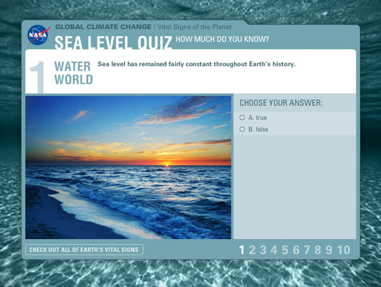 Sea Level Quiz
