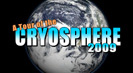 The cryosphere is Earth's solid water: snow, sea ice, glaciers, permafrost, ice sheets, and icebergs. Direct measurements can be difficult to obtain, so scientists use satellites to observe the cryosphere and to monitor changes.
