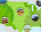 "This resource for middle school and informal education focuses on climate change impacts on wildlife and wildlands across the United States. The toolkit divides the country into 11 distinct ""eco-regions"" based on a number of factors including geography and habitat type."