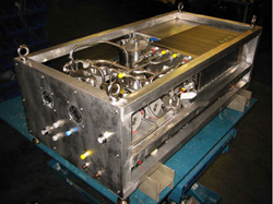 A phase-one proton exchange membrane fuel cell design for space exploration developed by Teledyne. Credit: NASA