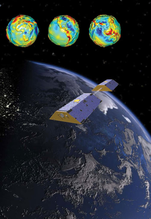 NASA's gravity mission Grace is tracking the movement of water and ice on our planet.