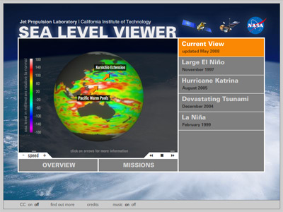 Sea Level Viewer - Click here to launch