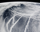 Ship Tracks Reveal Pollution's Effects on Clouds