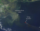 Three Months of Oil: Satellites View Gulf Oil Spill