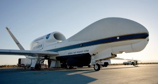 Global Hawk on the tarmac at NASA Dryden Flight Research Facility. Photo: DFRC.