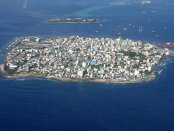 Republic of Maldives: Vulnerable to sea level rise
