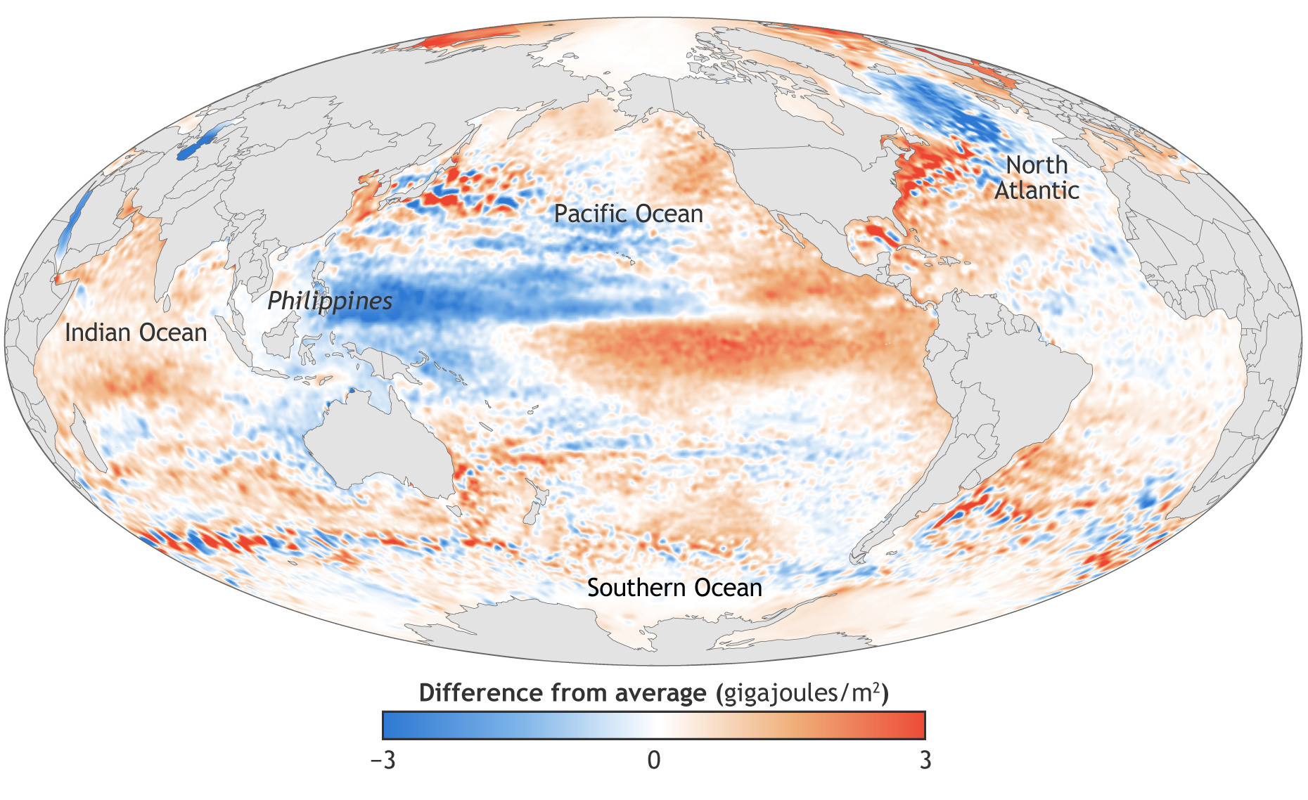 NOAA's annual assessment of the heat in the upper ocean