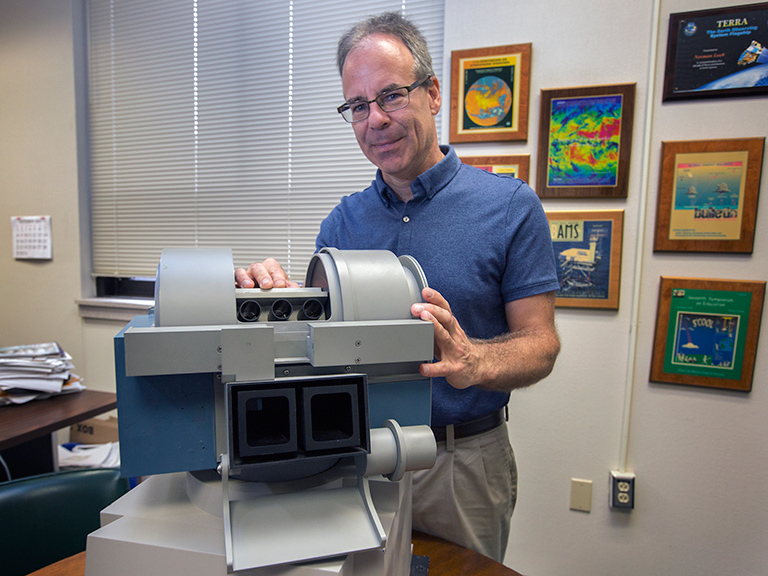 Norman Loeb, principal investigator of NASA's Radiaton Budget Science Project