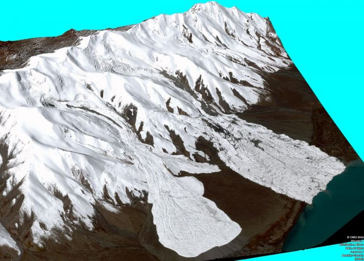 3D image of the avalanches