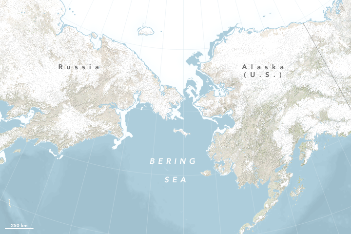 Historic Low Sea Ice In The Bering Sea Climate Change Vital Signs