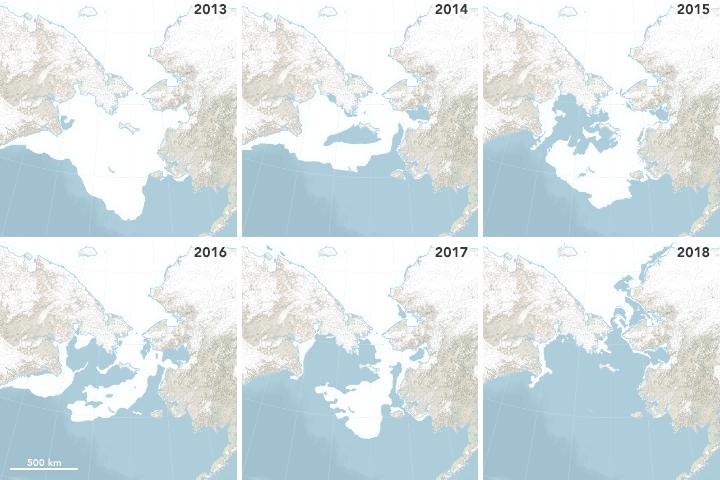 Bering Sea 2013-2018