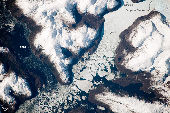Glacier Outlet, Southern Patagonian Icefield, Chile