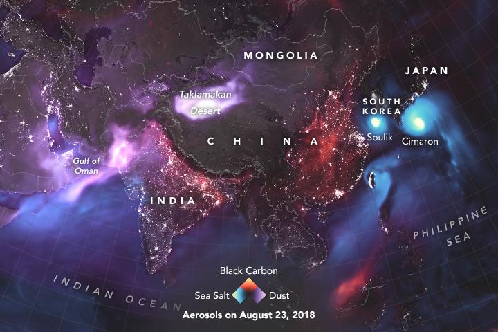 Aerosols in Asia