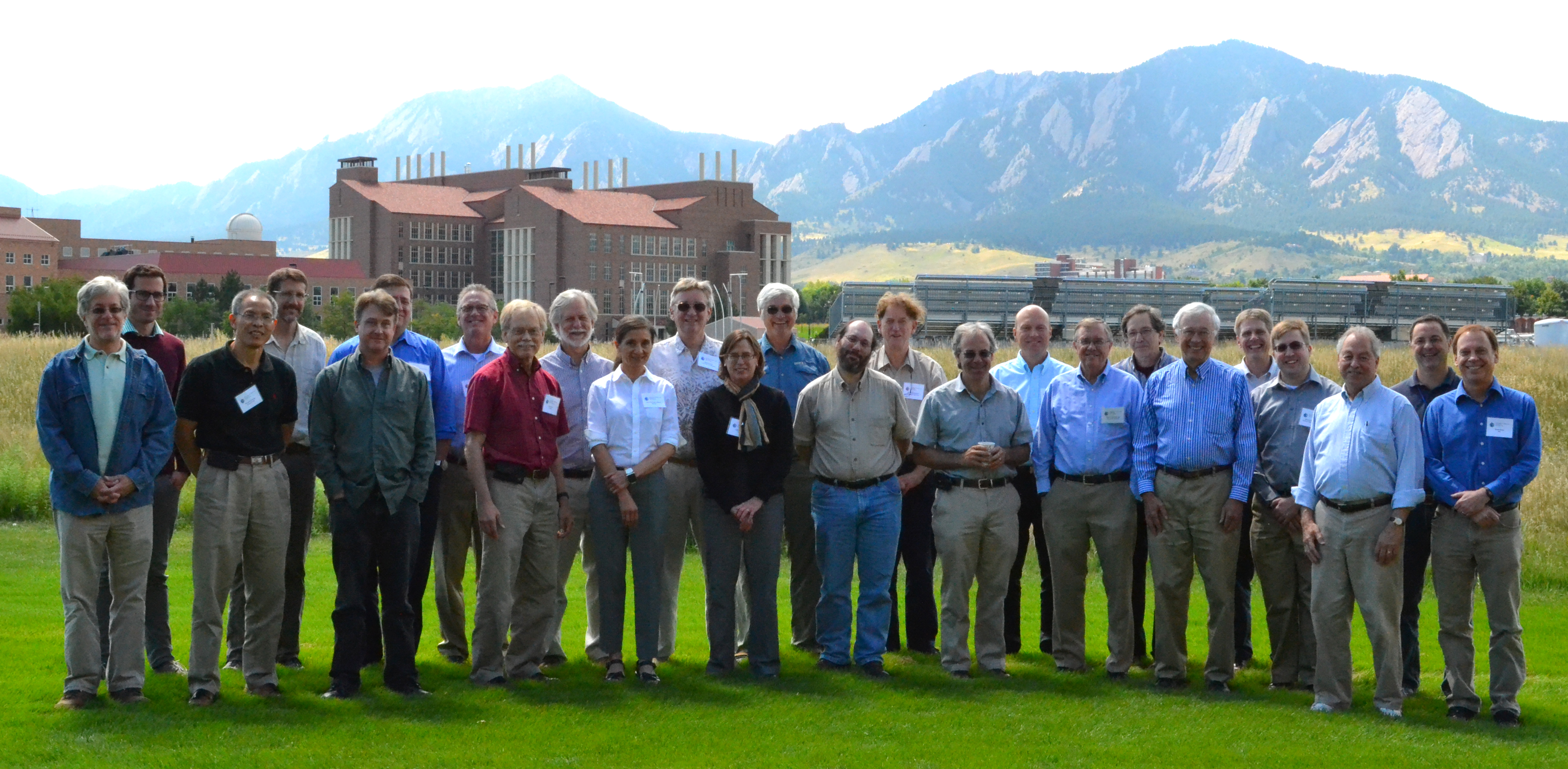 The Terra working group, including representatives from science teams, instruments teams and flight operations teams meet in Boulder, Colorado, in 2015.