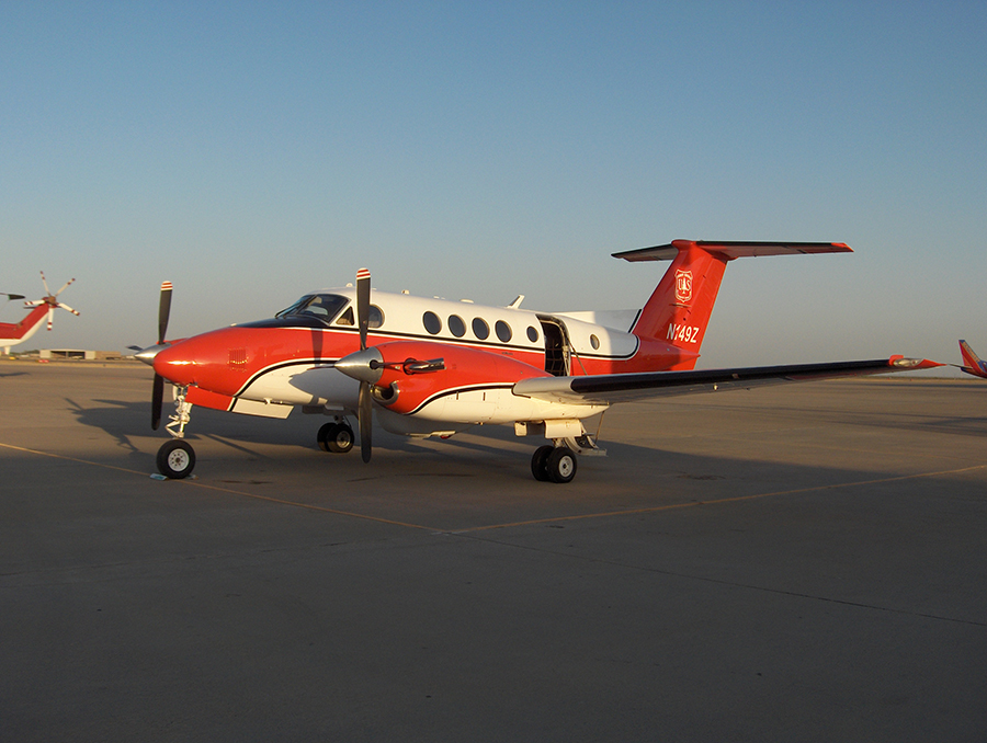 USDA plane that holds the phoenix scanner