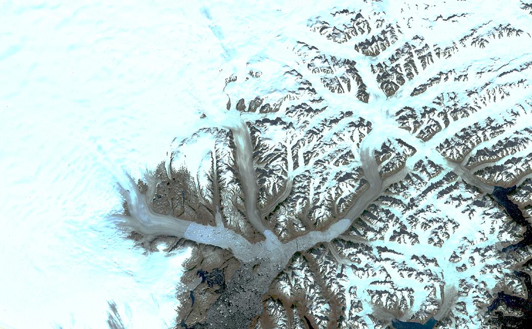 Landsat Illustrates Five Decades of Change to Greenland Glaciers 1