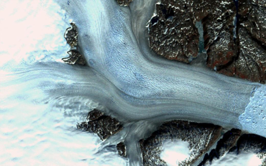 Landsat Illustrates Five Decades of Change to Greenland Glaciers 3