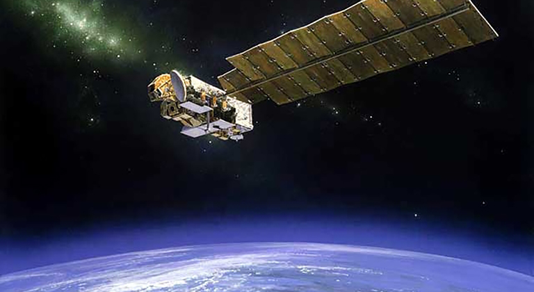 NASA's Aura satellite.