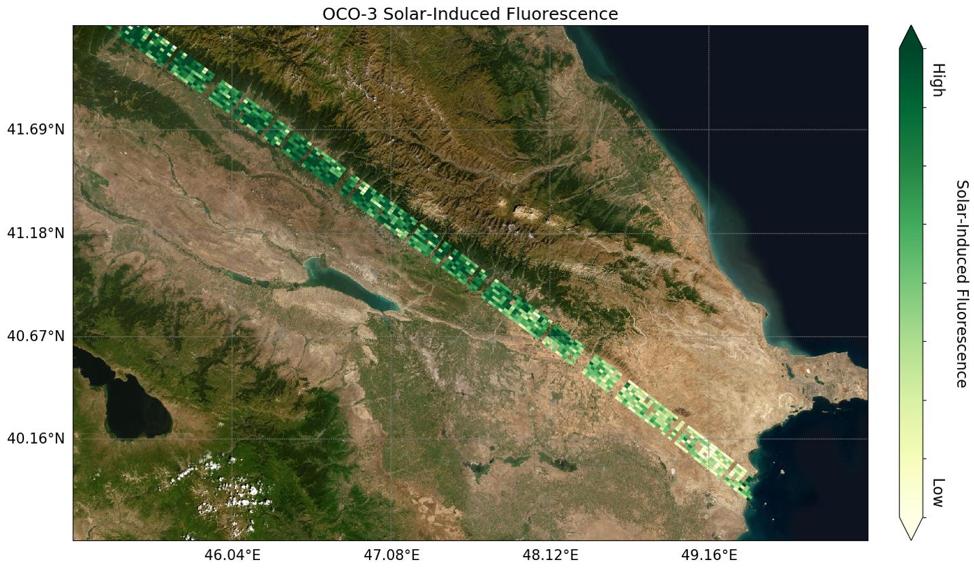 OCO-3 Sif data