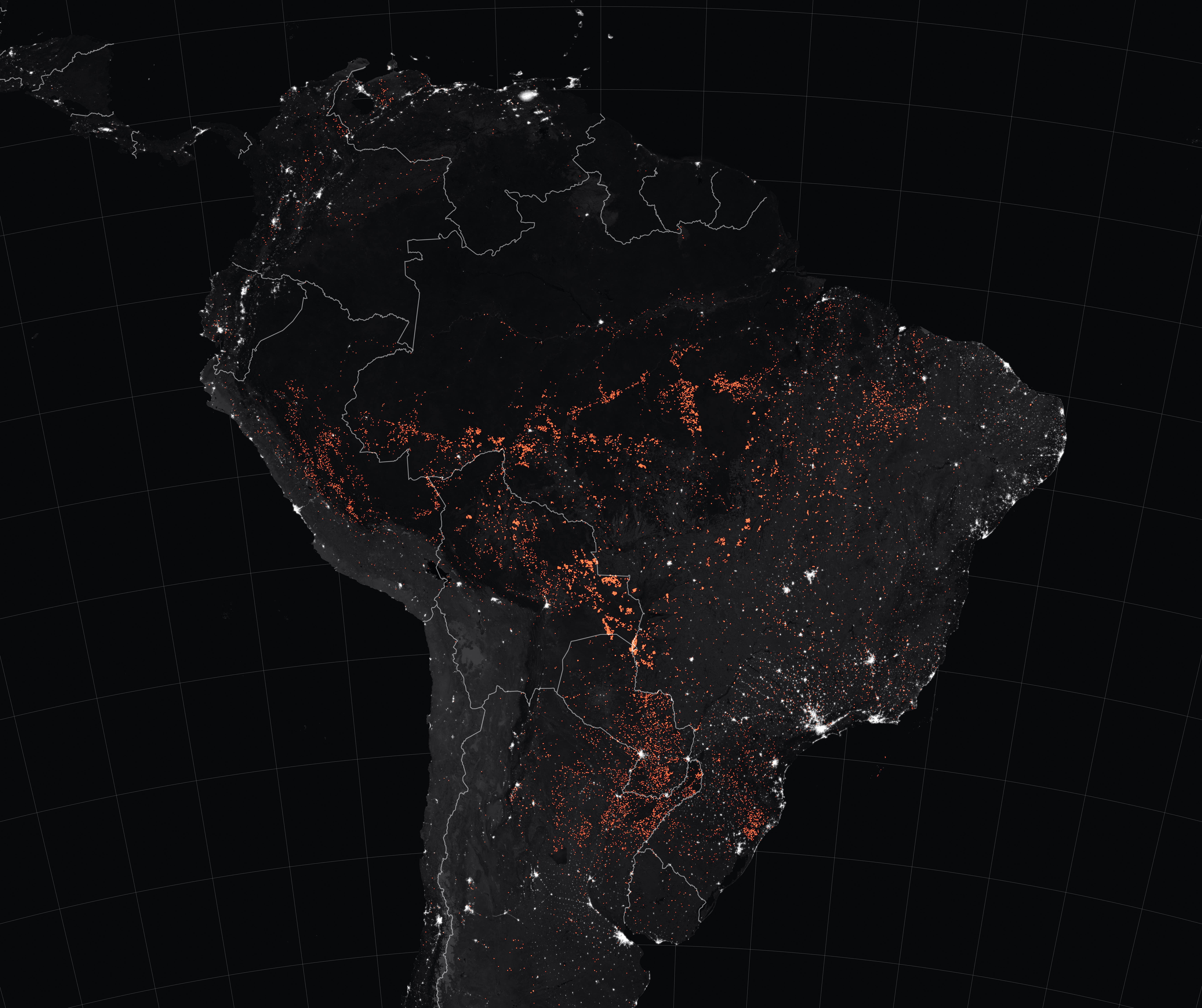 South America Fires