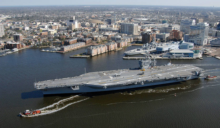 Norfolk USS Harry