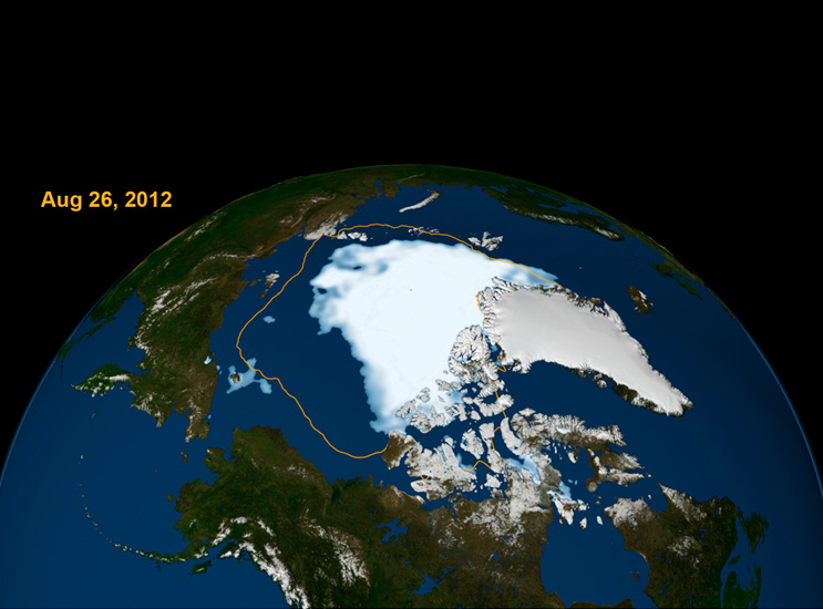 The Arctic Ocean is expected to become essentially ice free in summer before mid-century.