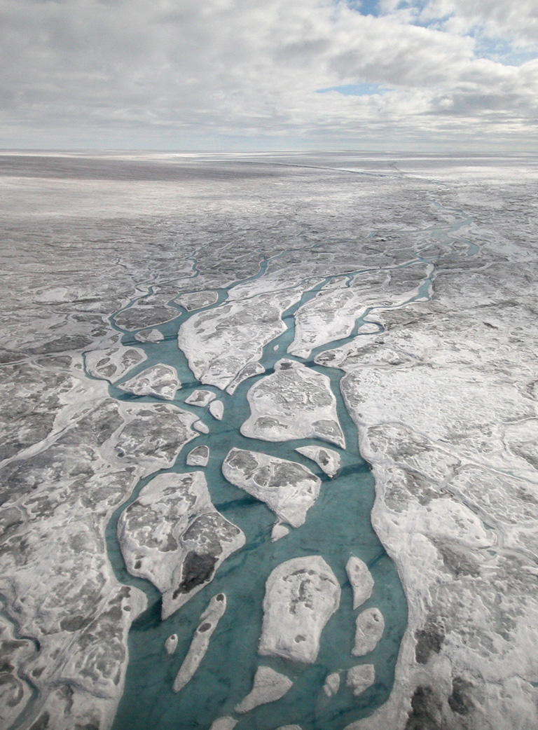 Movement decreasing for portion of Greenland Ice Sheet – Climate Change: Vital Signs of the Planet