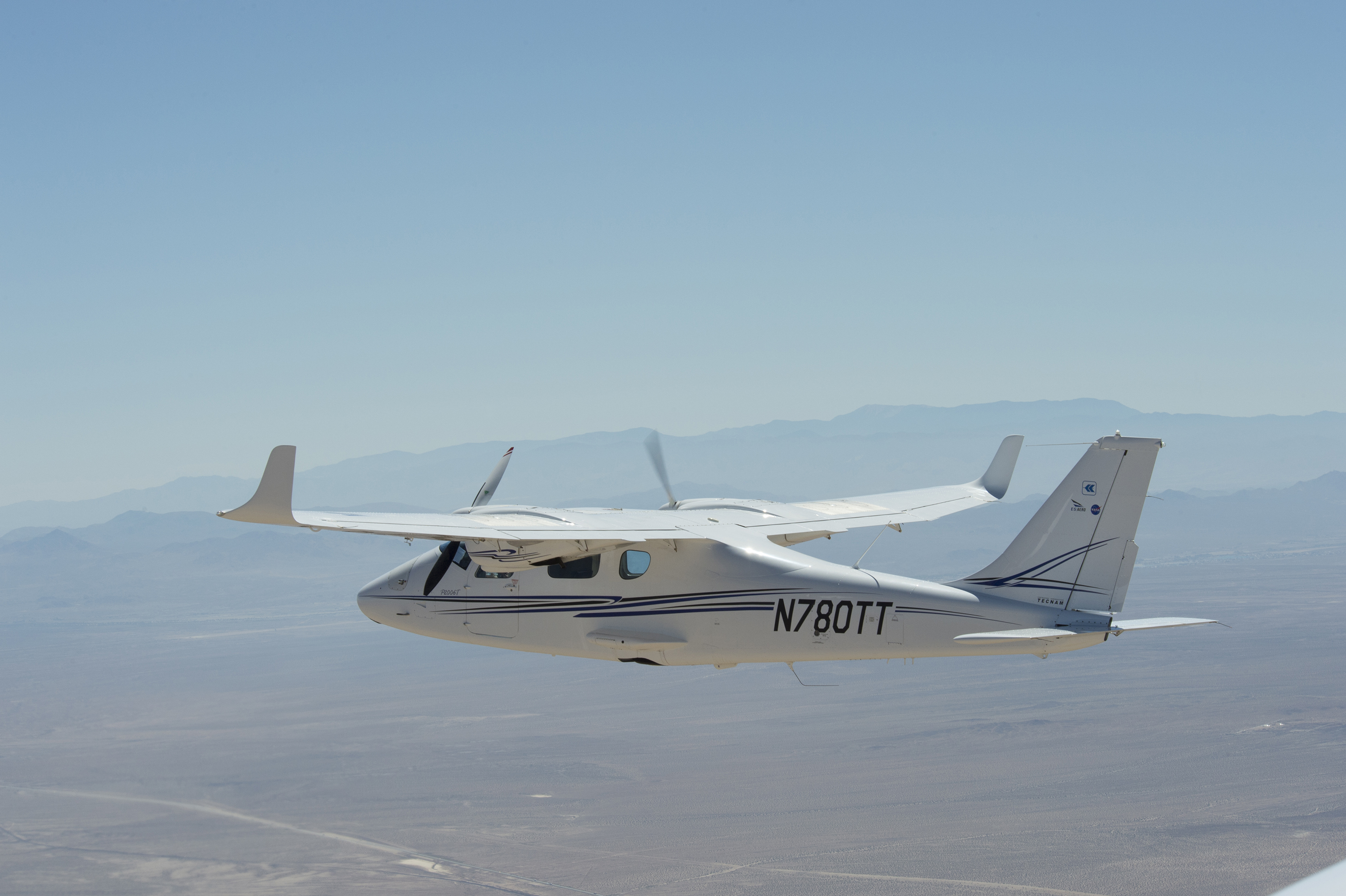 Piloted electric propulsion powered experimental aircraft for Electric motor for aircraft