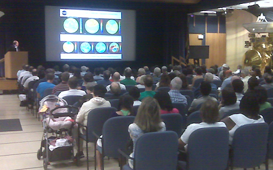 Public Science Symposium on Climate Change at JPL