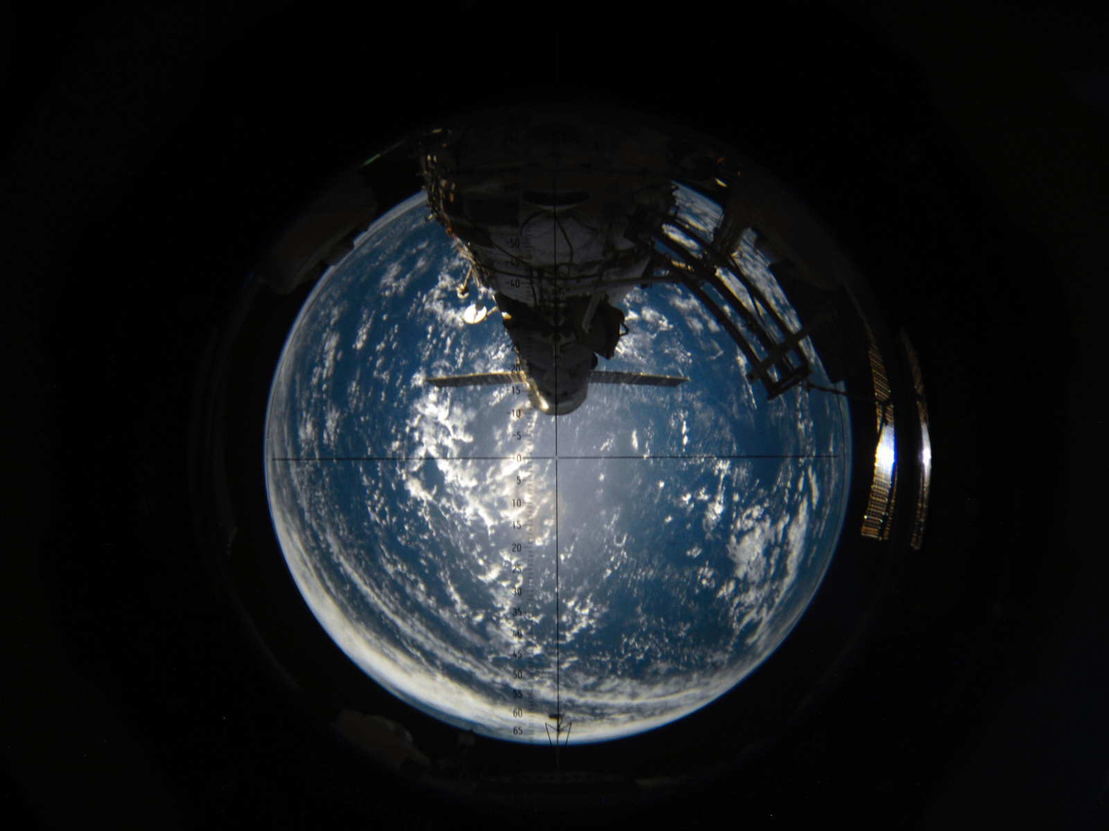 Aft view of Earth – Climate Change: Vital Signs of the Planet