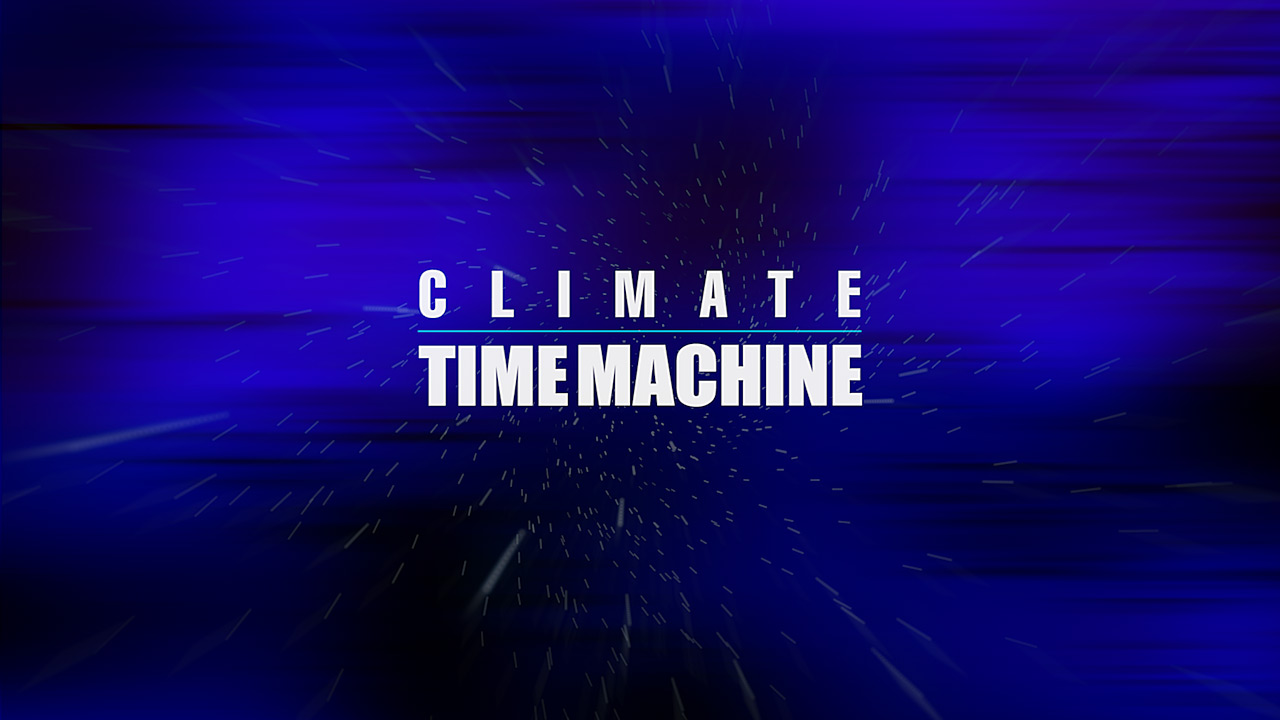 slide 4 - Climate Time Machine