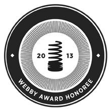 2013: Webby Award - 'Eyes on the Earth'
