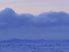 ANIMATION: Clouds over cracks in Artic sea ice show mercury pumping