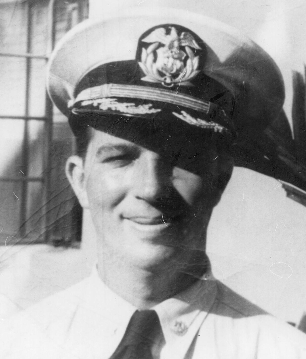 Bill's father, deep-sea ship captain Rudy Patzert