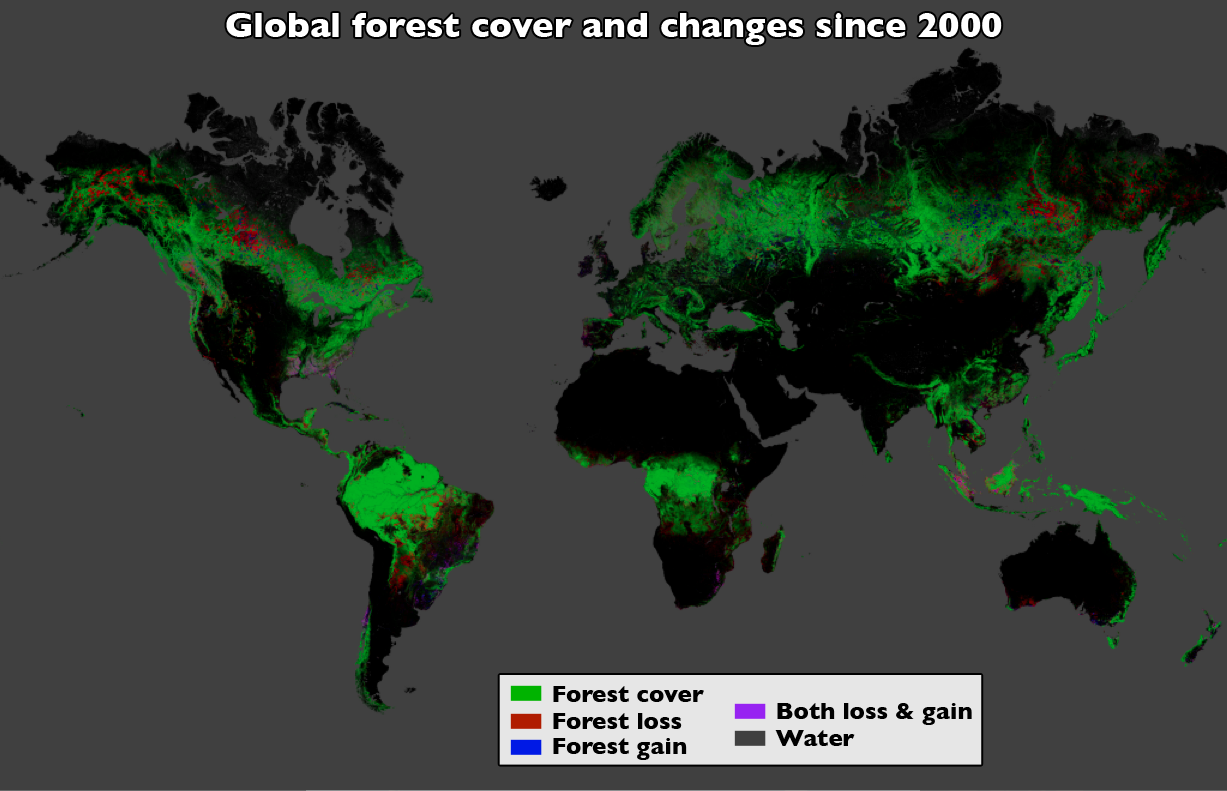 Landsat Data Yield Best View To Date Of Global Forest Losses Gains