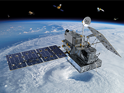 The first new NASA Earth science mission of 2014 is the Global Precipitation Measurement (GPM) Core Observatory, a joint international project with the Japan Aerospace Exploration Agency (JAXA). Launch is scheduled for Feb. 27 from Japan. Image Credit: NASA