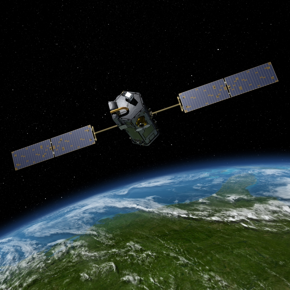 Artist's rendering of OCO-2
