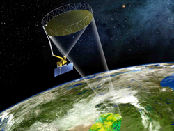 NASA's Soil Moisture Active Passive (SMAP) mission will track Earth's water into one of its last hiding places: the soil. SMAP soil moisture data will aid in predictions of agricultural productivity, weather and climate. SMAP is scheduled to launch in November. Image Credit: NASA
