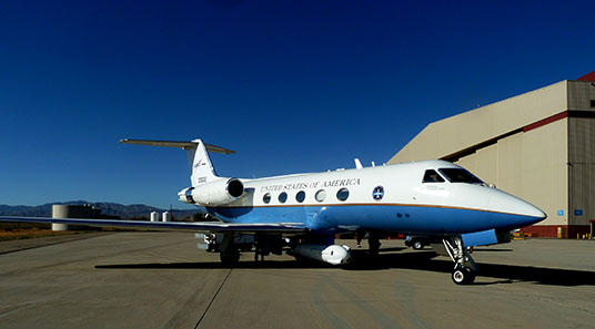 Gulfstream III C20-A environmental science research aircraft