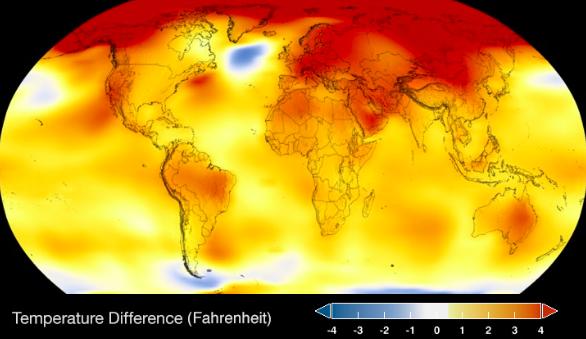 Global Surface Temperature | NASA Global Climate Change