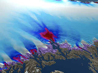 Simulated Greenland Ice Sheet Response Scenarios: 2008 - 2300