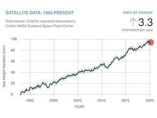 Earth's vital signs: Sea level