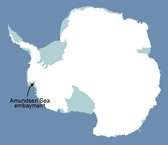 Amundsen Sea Embayment, West Antarctica