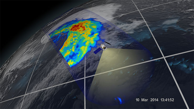 GPM extratropical cyclone