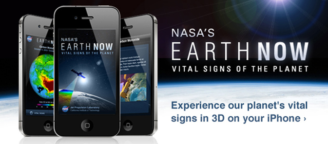 Earth Now app