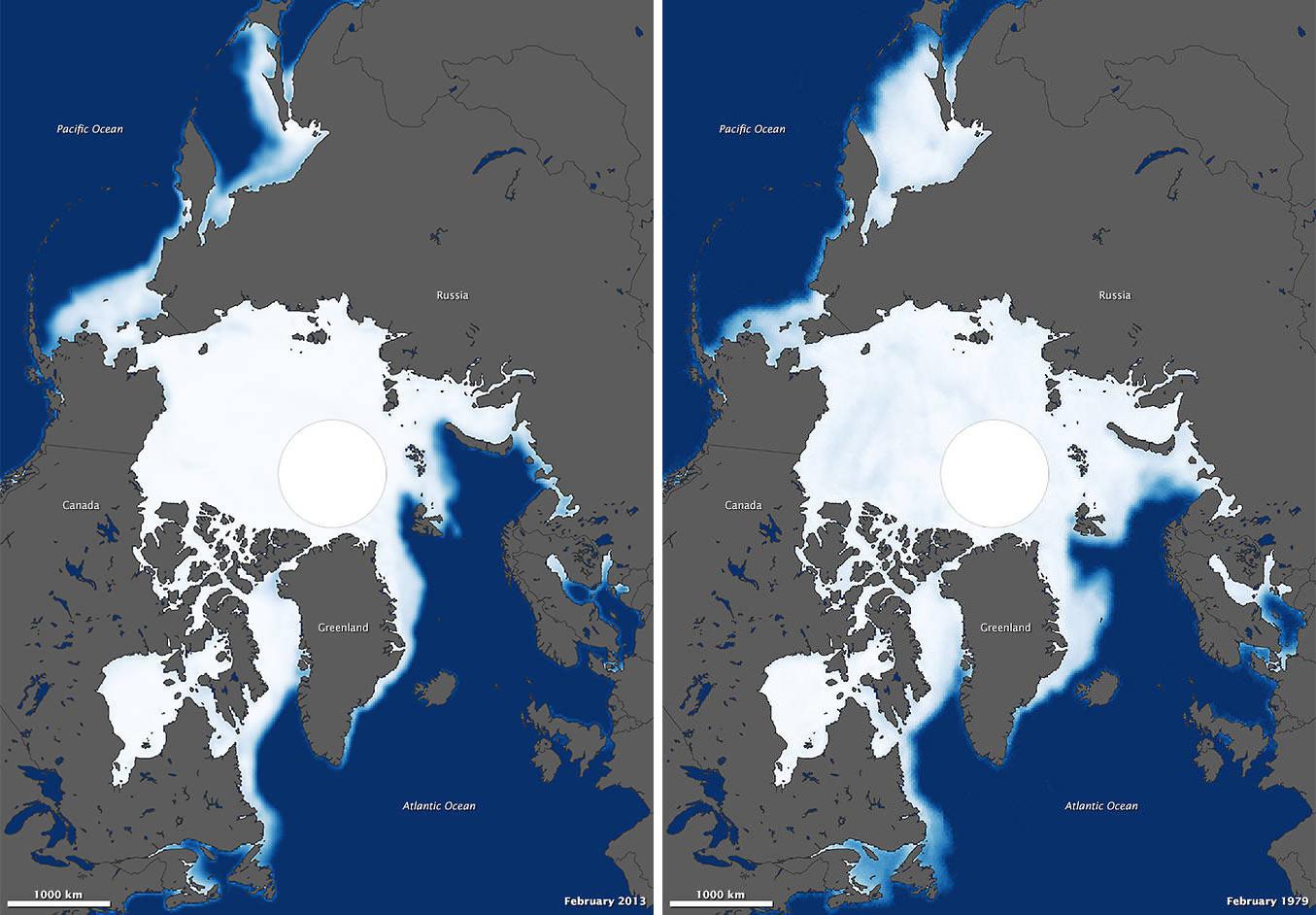 polar ice cap nasa - photo #38