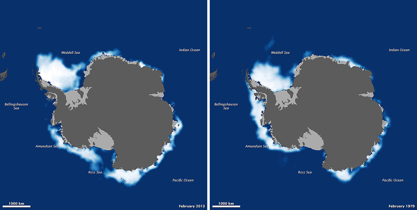 Climate Change Vital Signs Of The Planet Study Shows Global Sea - Satellite map of antarctica