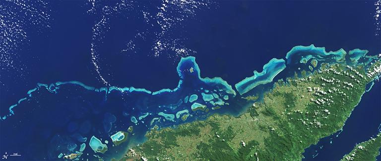 Coral reefs at Vanua Levu, Fiji