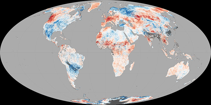 Climate Change: Vital Signs of the Planet: Europe and ...