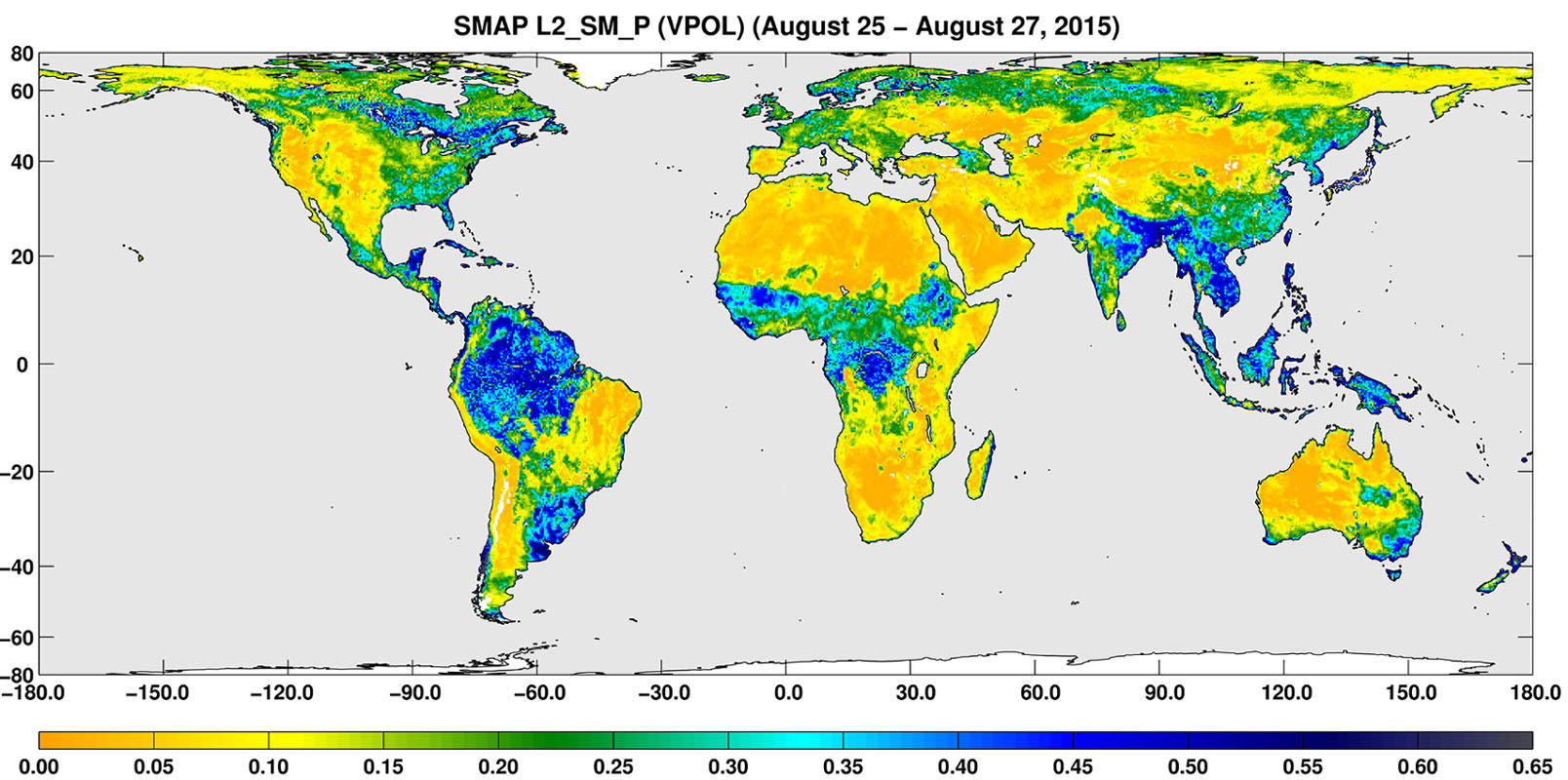 Climate Change: Vital Signs of the Planet: Soil moisture ...